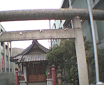 Shrine next to the Budokan
